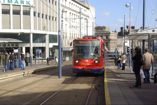 Castle Square Tram Stop, Sheffield