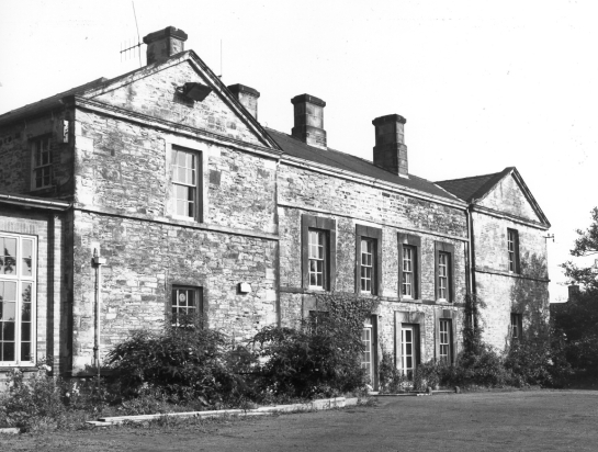 Figure 4: Former Rectory, Handsworth – built in the late 17th or early 18th century, but containing part of a cruck timber