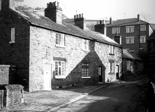 Vernacular cottages probably at Norton Hammer Lane,         probably built for workers at the site of the nearby water powered forge