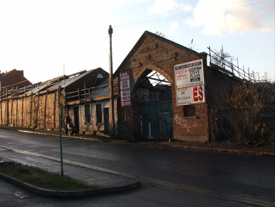 Text Box: Figure 3: Albert Road Horse Tram Depot in 2006